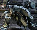 Metal Gear Rex 1/72 resin kit